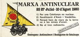 Marcha antinuclear