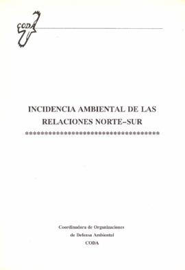 Incidencia medioambiental de las relaciones norte-sur